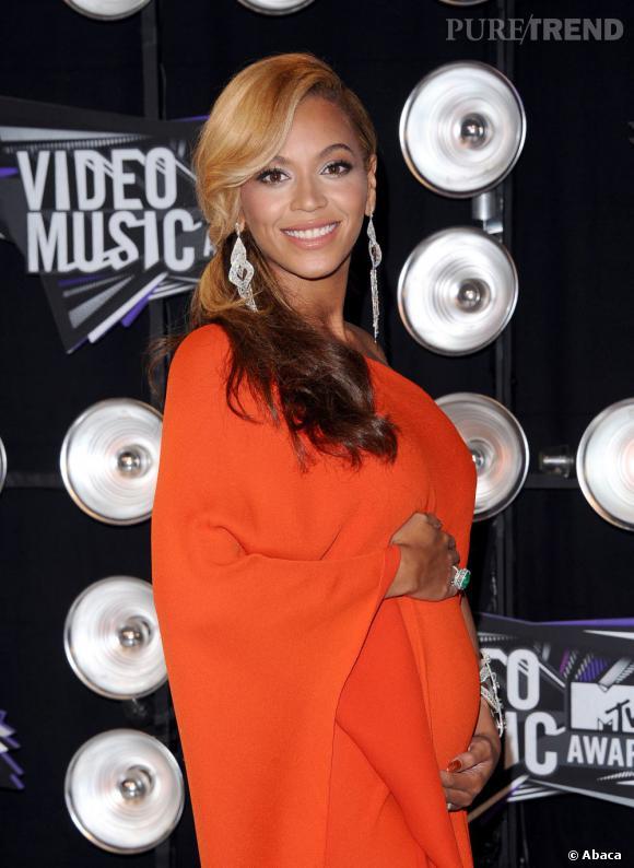 Enceinte, Beyoncé affichait de belles longueurs.