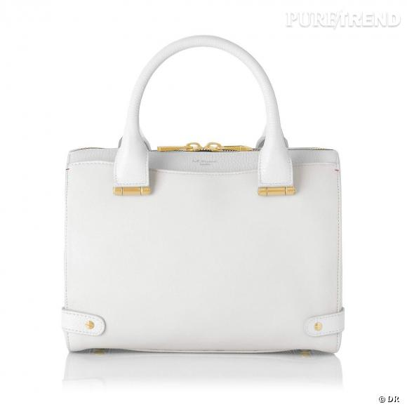 Must have : les it-bags Rosamund, collection capsule Rosamund Pike x L.K.Bennett   Sac Rosie blanc, 525 €