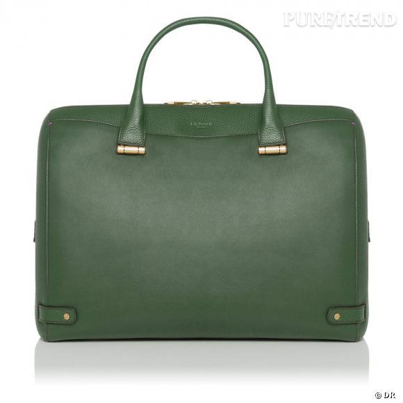 Must have : les it-bags Rosamund, collection capsule Rosamund Pike x L.K.Bennett   Sac Rosa vert, 595 €