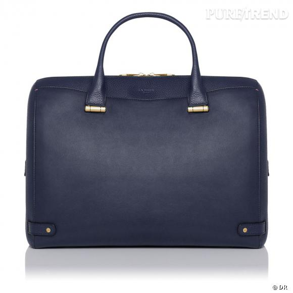 Must have : les it-bags Rosamund, collection capsule Rosamund Pike x L.K.Bennett   Sac Rosa navy, 595 €