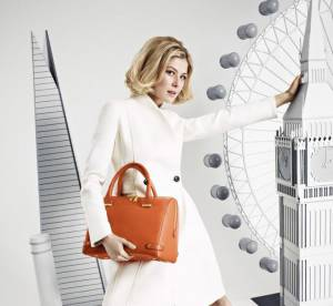Rosamund Pike presente le nouveau it-bag L.K.Bennett : must have chic et glamour