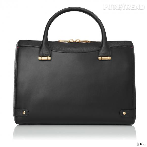 Must have : les it-bags Rosamund, collection capsule Rosamund Pike x L.K.Bennett    Sac Rosamund noir, 525 €