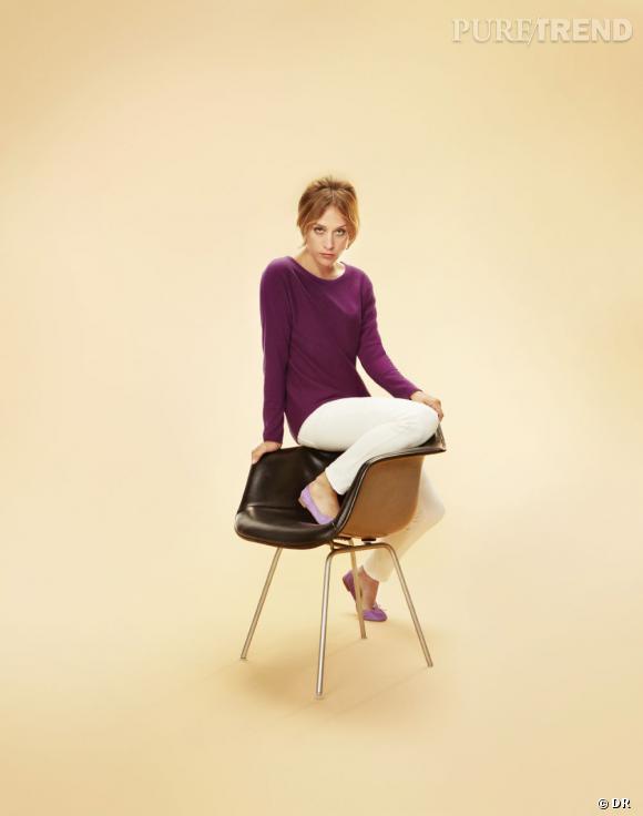 Le must have de Marijke Chloe Sevigny incarne la nouvelle collection cachemire d'Uniqlo, à partir de 39,90 €