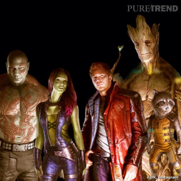 """Le réalisateur James Gunn a partagé une image du film """"Les Gardiens de la Galaxie""""."""