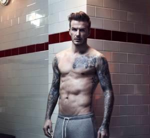 David Beckham : retraite sexy pour sa ligne de lingerie avec H-M