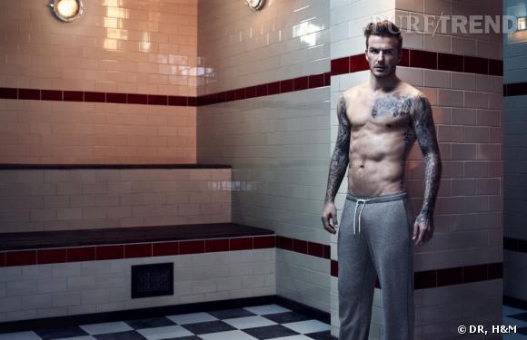 David Beckham : retraité sexy pour sa ligne de lingerie avec H&M