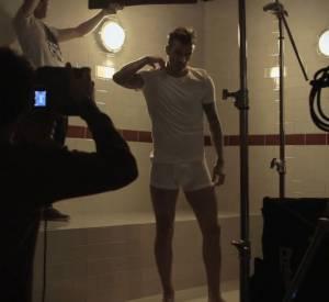"""Vidéo de la nouvelle collection """"David Beckham Bodywear pour H&M""""."""
