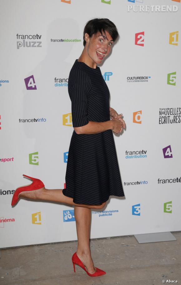 Alessandra Sublet, la parfaite petite robe noire pour la rentrée.