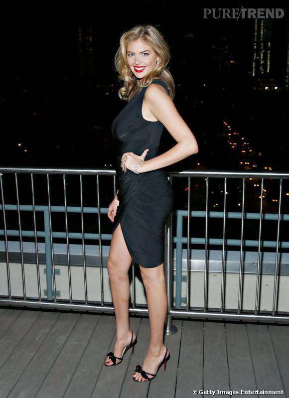 Kate Upton élue mannequin de l'année aux Style Awards 2013.