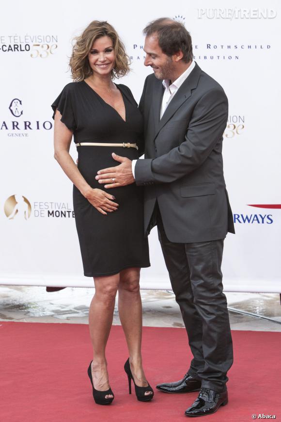 Ingrid Chauvin, 39 ans est enceinte de son premier enfant, une petite fille.