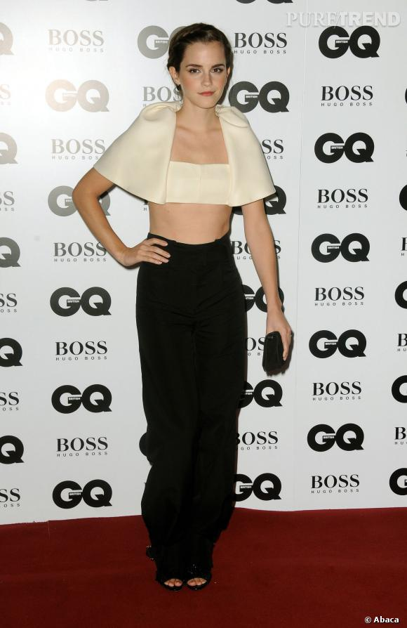 Emma Watson aux GQ Men of the Year, too much.