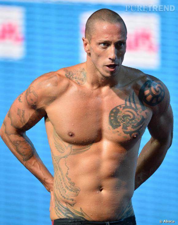 Frédéric Bousquet, le plus beau tatoué des bassins.