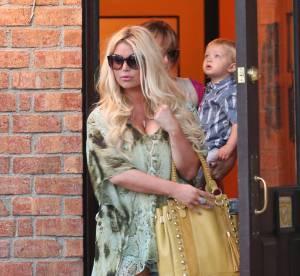 Jessica Simpson, ses courbes pulpeuses post-accouchement