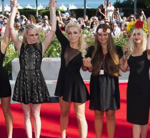 Les Femen : tapis rouge et petites robes noires a la Mostra de Venise