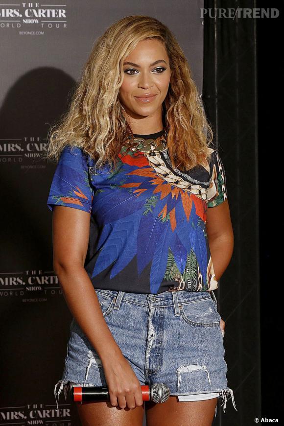 Beyoncé, au Brésil, le 8 septembre 2013.
