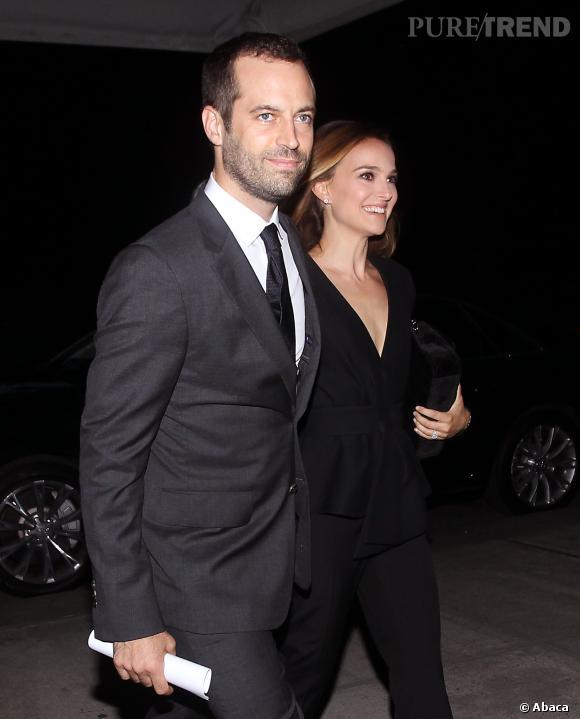 Natalie Portman et Benjamin Millepied, un couple glamour dans les rues new-yorkaises.