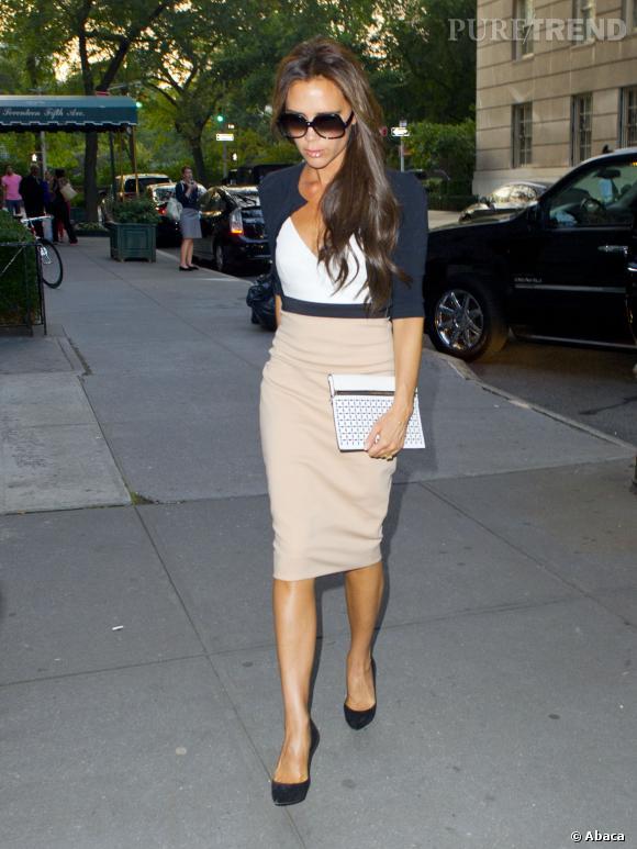 Victoria Beckham à New York joue les Working Girls.