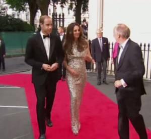 Kate Middleton et Prince William parlent de leur première soirée sans bébé.