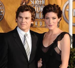 """Michael C. Hall et Jennifer Carpenter se sont mariés après s'être rencontrés sur les tournages de """"Dexter""""... Mais ils ont ensuite divorcé."""