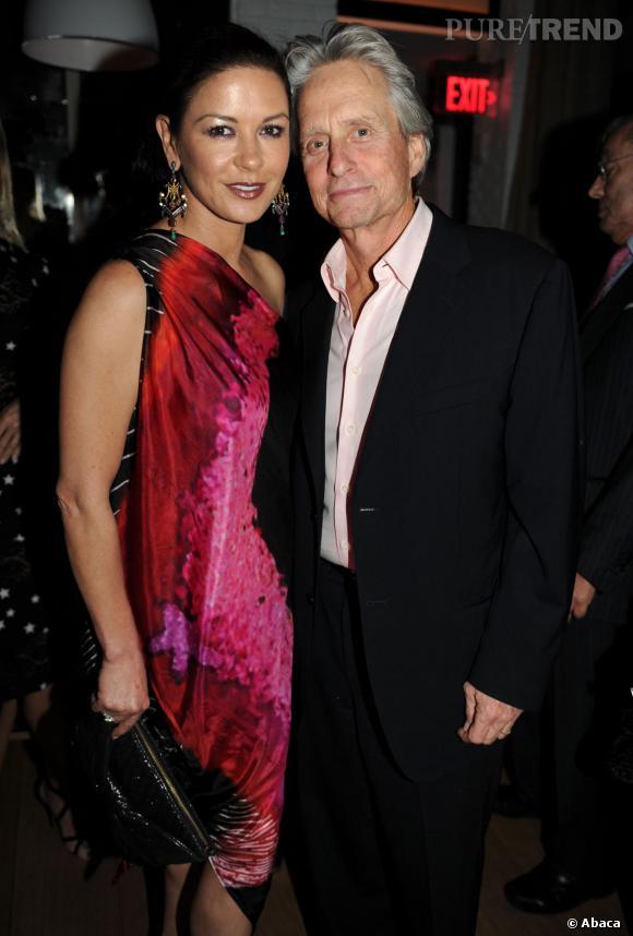 Catherine Zeta Jones et Michael Douglas, finalement, tout va bien selon l'acteur.