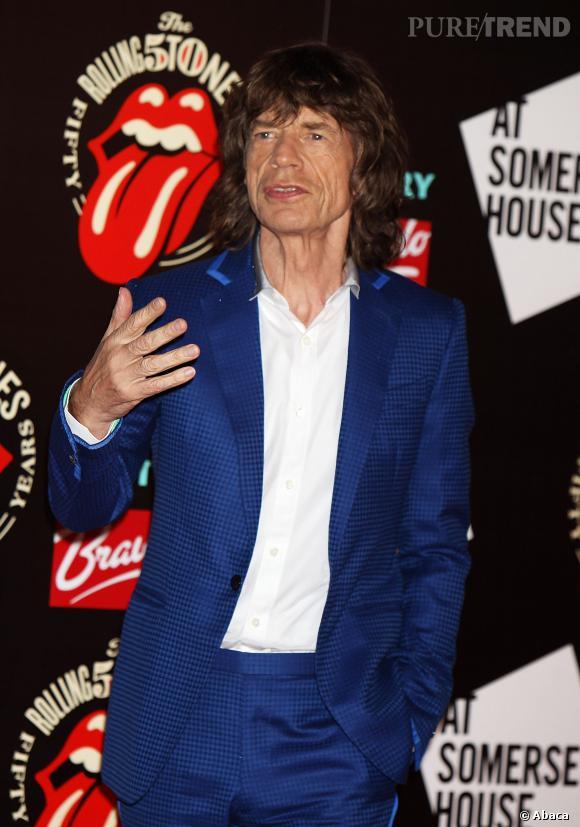 Mick Jagger : arrière-grand-père pour la première fois en 2014 ?