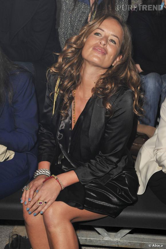 La seconde fille de Mick Jagger, Jade Jagger devient du même coup grand-mère pour la première fois à 42 ans... Dur...