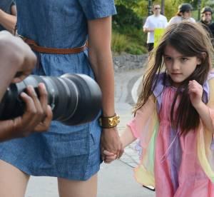 Suri Cruise, Harper Beckham, Seraphina : droles de tetes face aux paparazzis !