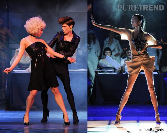 """Défilé Jean Paul Gaultier """"Let's dance with the stars"""" Printemps-Eté 2014"""