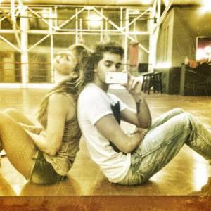 """Laetitia Milot est bien décidé à s'imposer lors de la saison 4 de """"Danse avec les stars""""."""