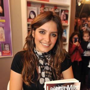 """Laetitia Milot a sorti un livre en 2010, """"Je voulais te dire""""."""