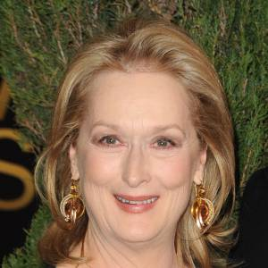 Meryl Streep lorsqu'elle n'est pas déguisée en sorcière !