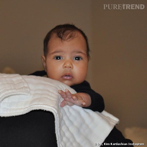 North West, le bébé chéri de la mode.