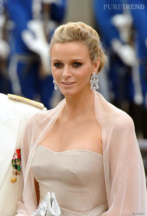 Charlène de Monaco, sublime épouse du prince Albert.
