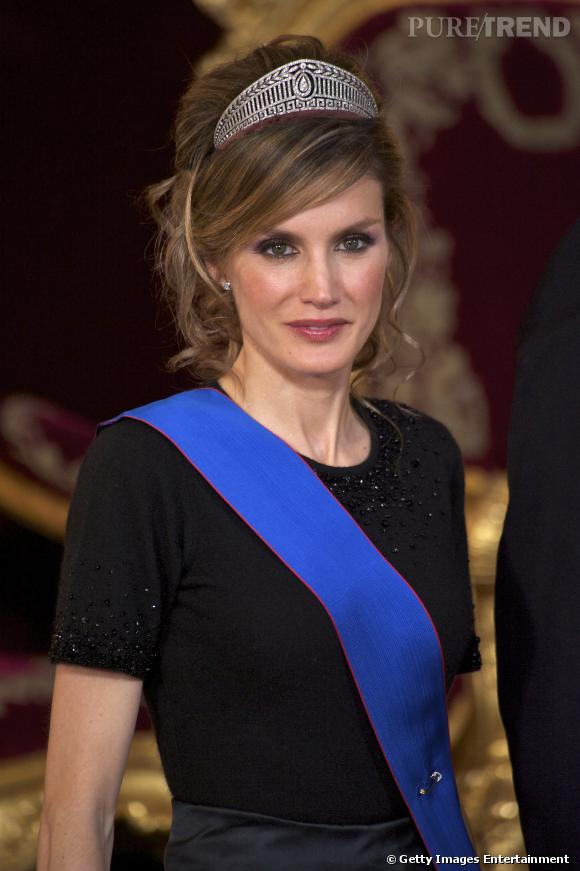 Letizia d'Espagne, future reine d'Espagne.