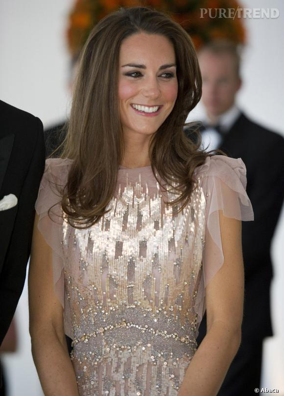 Kate Middleton a séduit le coeur des Britanniques.