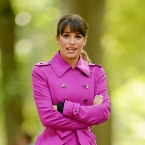 """Lea Michele a depuis repris le tournage de """"Glee"""". On espère que cette nouvelle révélation faite au public ne la replongera pas dans la déprime."""
