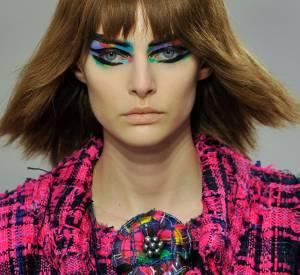 Karl Lagerfeld explique les inspirations de sa collection Chanel Printemps-Été 2014.