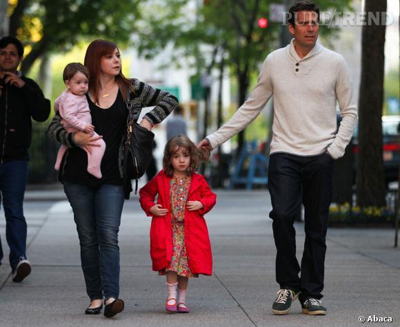Alyson Hannigan et son mari sont les parents de Satyana et Keeva.