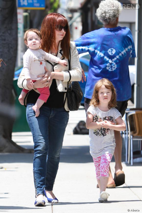 Alyson Hannigan, une maman poule pour ses deux filles !