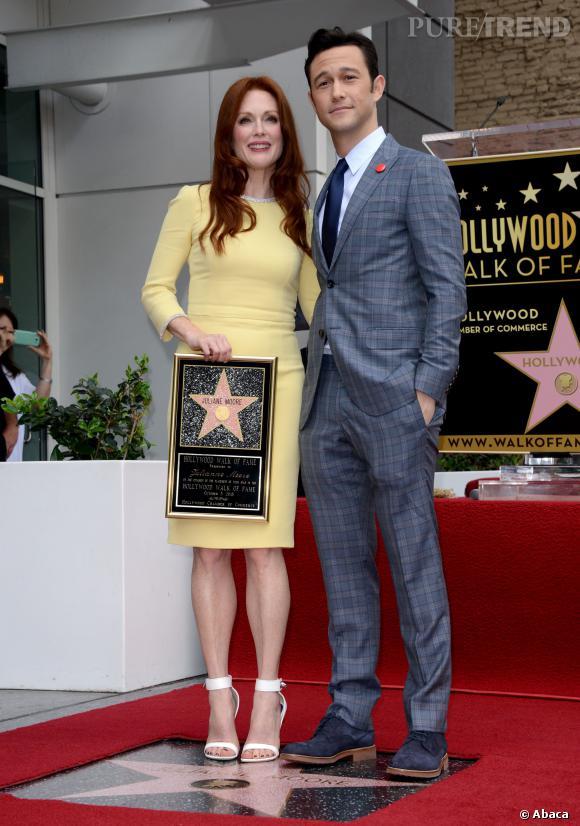 Julianne Moore et Joseph Gordon-Levitt.