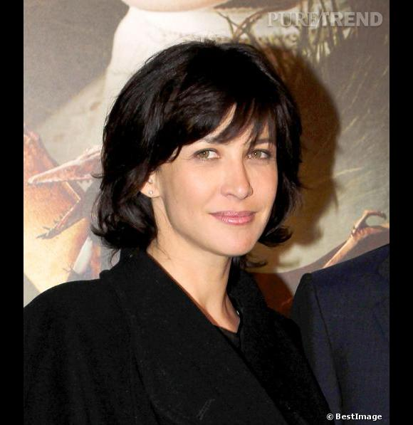 coupe de cheveux comme sophie marceau image l gante d 39 une coiffure. Black Bedroom Furniture Sets. Home Design Ideas
