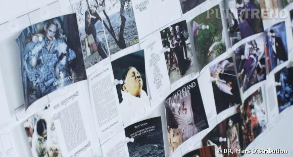Les premières feuilles du  CR Fashion Book .