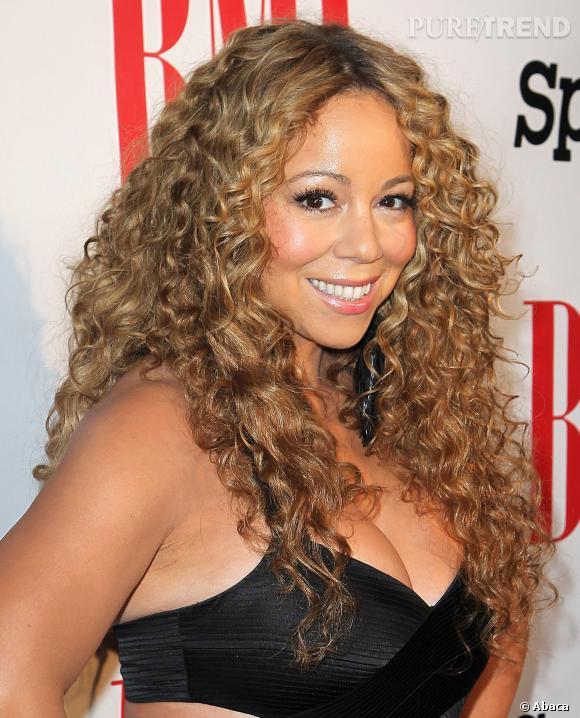 Mariah Carey : volume et glamour.