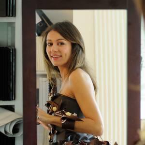 Marie-Ange Casalta défilera sur le podium du Salon du Chocolat.
