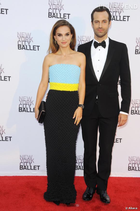 Natalie Portman et Benjamin Millepied, bientôt parisiens.