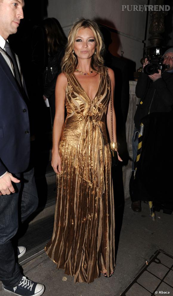 Kate Moss devient contributrice mode pour le Vogue UK.