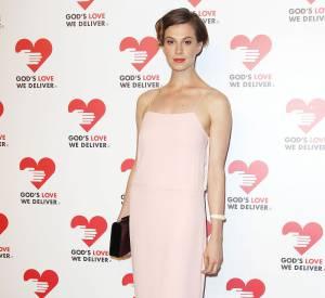 Elettra Rossellini, reine du pastel à la soirée God's Love We Deliver 2013 Golden Heart Awards à New York.