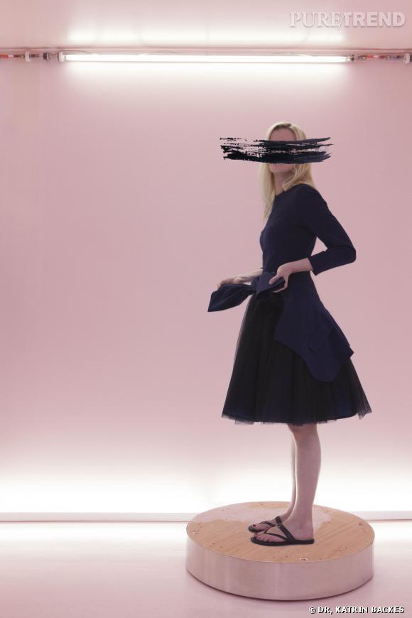 Affaire de la robe bleu et noir