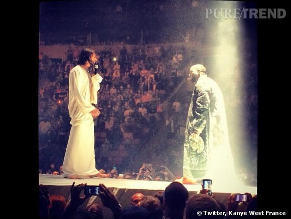 Kanye West et sa rencontre avec Jésus sur scène.