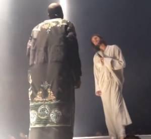 Kanye West rencontre Jesus en cagoule Maison Martin Margiela